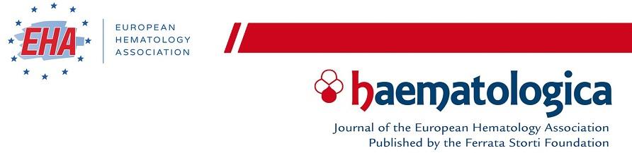 Haematologica Digital Edition